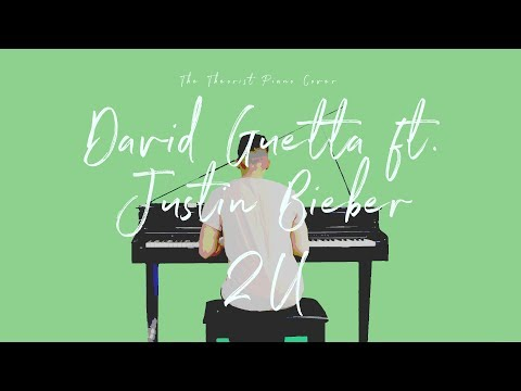 David Guetta ft Justin Bieber - 2U  The Theorist Piano Cover