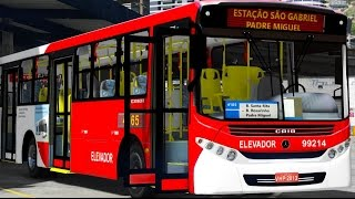 Video GTA V Mods - VIDA REAL: Motorista de ônibus #5 / ônibus brasileiro download MP3, 3GP, MP4, WEBM, AVI, FLV Juli 2018