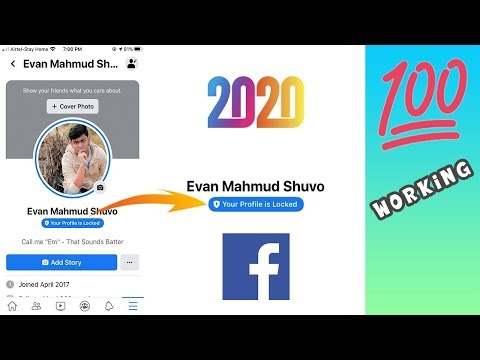 Easy Way To Lock Your Facebook Profile In 2020