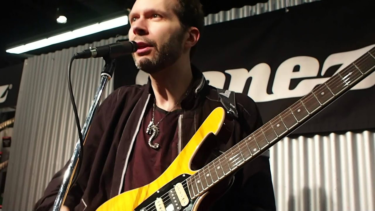namm 2014 paul gilbert unveils ibanez frm250mf discusses its