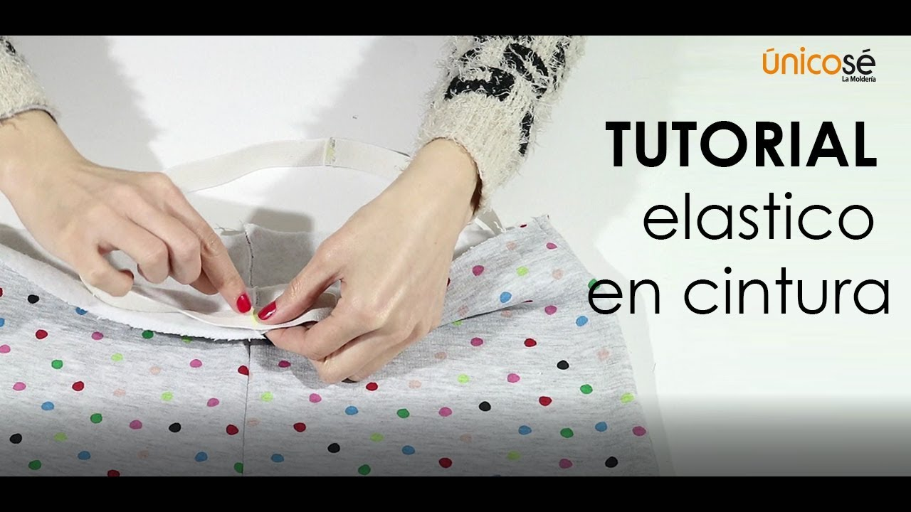 Tutorial Costura : elástico cintura - YouTube