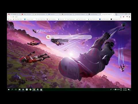 Fortnite Dark Voyager Hd Wallpaper New Tab Youtube