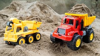 Sand Truck 🚚 Toy Truck for Kids #2 - Dave Mario Toy Reviews