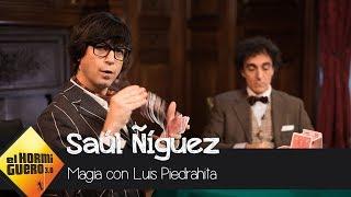 El mágico acertijo visual de Luis Piedrahita durante la visita de Saúl Ñíguez  - El Hormiguero 3.0