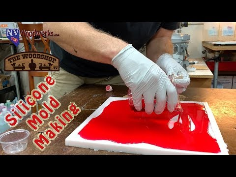 Resin Cast Faux Stained Glass Panels & Silicone Mold