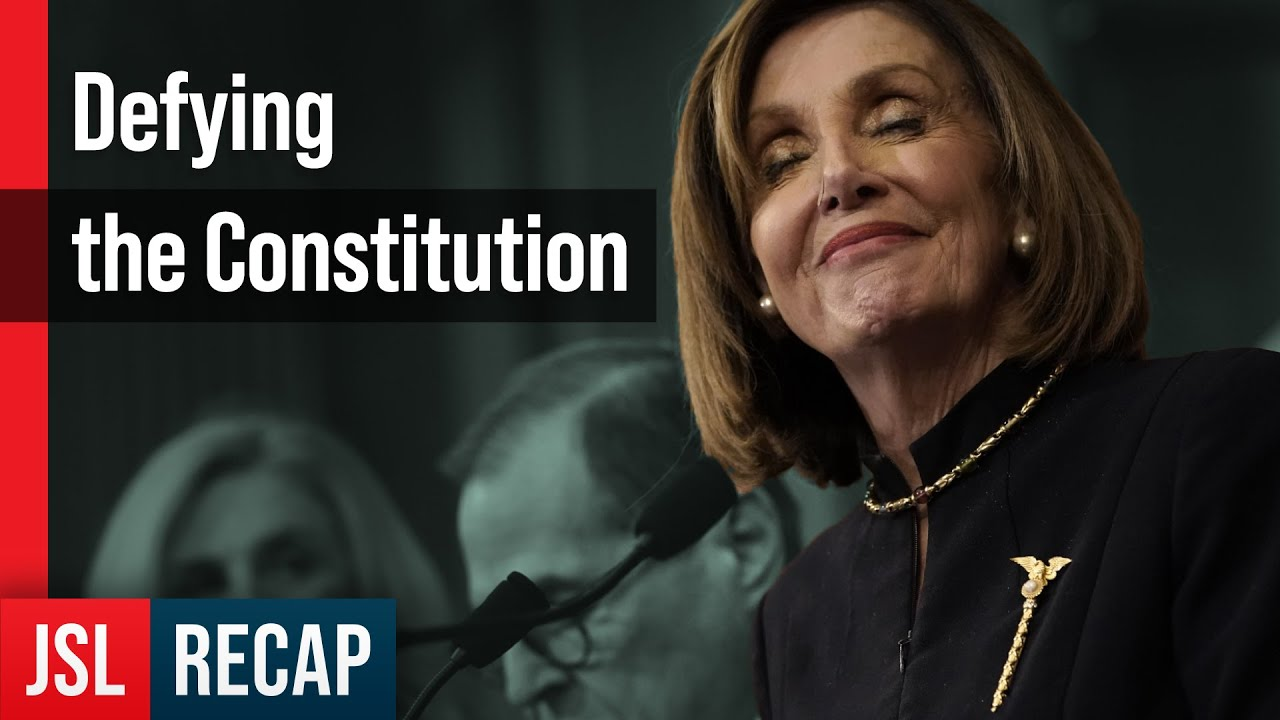 Is Speaker Pelosi Brazenly Defying the Constitution? - ACLJ