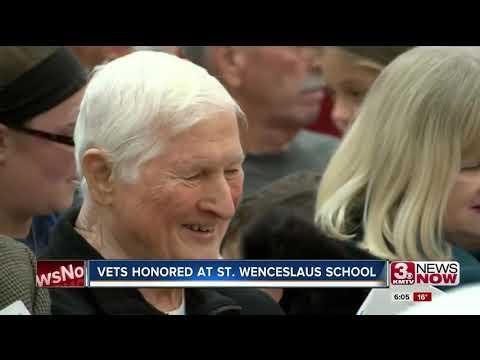 Veterans Honored At St. Wenceslaus School