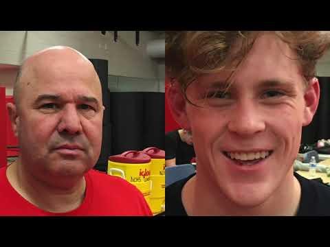 Paul Gallo New Canaan High School Wrestling Coach 30 years
