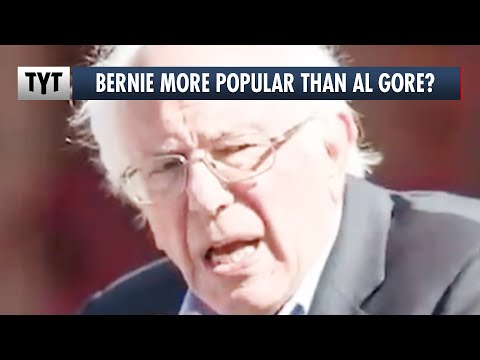 Who Is More Popular: Bernie Sanders Or Al Gore?