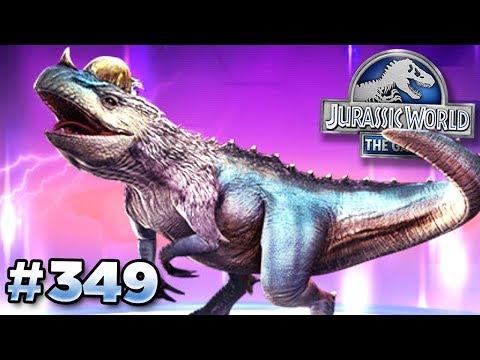 The Ceratosaurus Hybrid! || Jurassic World - The Game - Ep349 HD
