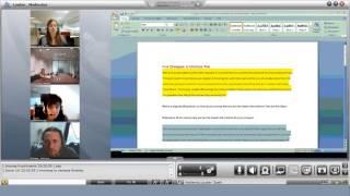 A solução Spontania apresenta em tempo real colaboração de document...