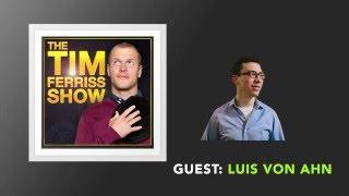 Luis Von Ahn Interview (Full Episode) | The Tim Ferriss Show (Podcast)