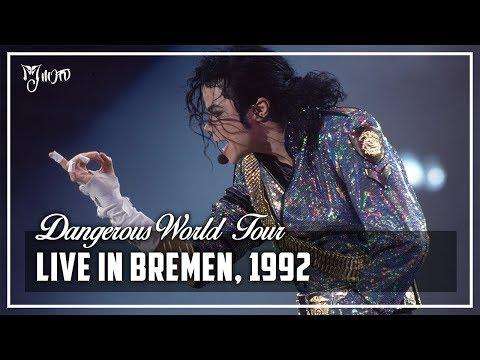 LIVE IN BREMEN, 1992 - Dangerous World Tour (Full Concert) [60FPS] | Michael Jackson