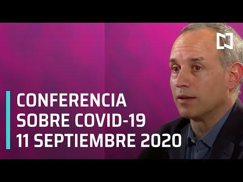 Conferencia Covid México -11 septiembre 2020