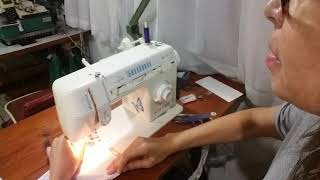 Aprenda a costurar malha na máquina doméstica