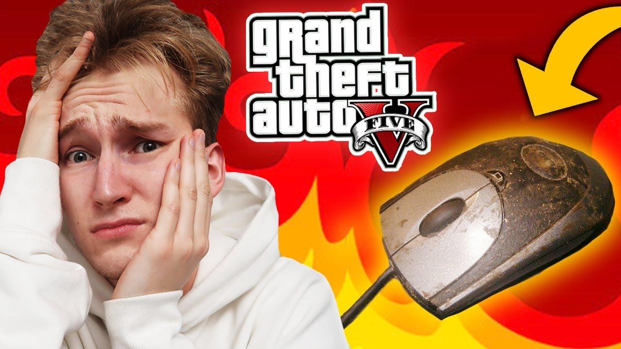 GTA V - NIE ROZWAL MYSZKI CHALLENGE #13 💩