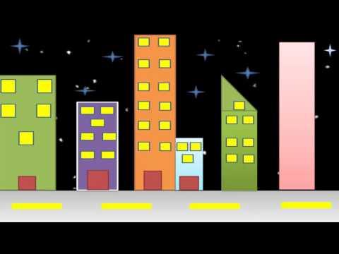 Paisaje urbano para niños -aprende a construir una ciudad -vídeo infantil para niños de primaria