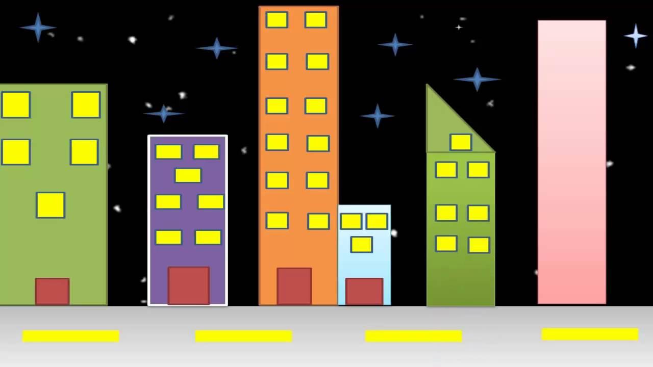 Paisaje Urbano Para Niños -aprende A Construir Una Ciudad