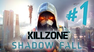 Killzone Shadow Fall - Parte 1: Os Helghans em Vekta! [ Playstation 4 - Playthrough em PT-BR ]