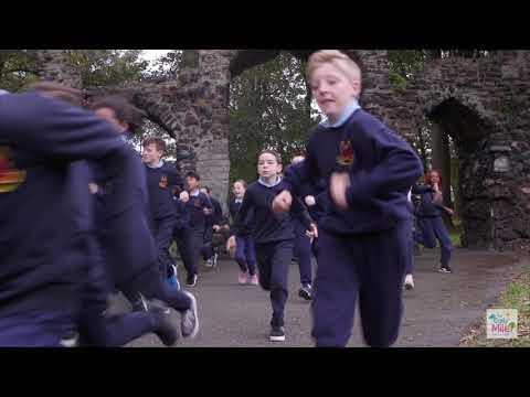 The Daily Mile At Scoil Mhuire Gan Smal, Inchicore Dublin
