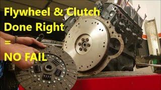 Installing a New Clutch & Flywheel - How To: Demonstration/ Walk Through