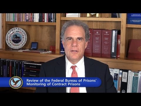 Review of the Federal Bureau of Prisons' Monitoring of Contract Prisons