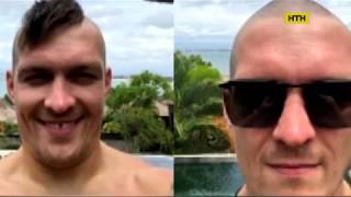 Український боксер Олександр Усик святкує 32-й день народження