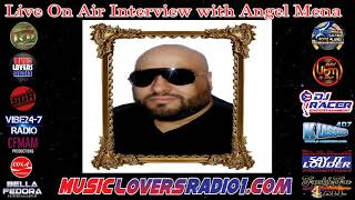 DJ RACER INTERVIEW WITH ANGEL MENA - 01/17/2020