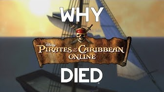 Why Pirates Online Died | Disney's Neglected MMO