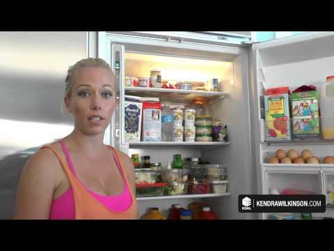 KendraWilkinson.com - What's In Kendra's Fridge?