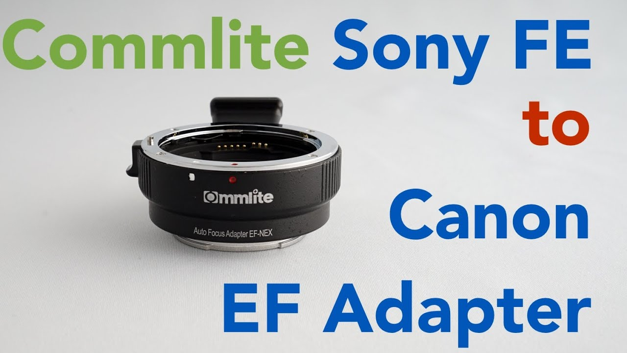 Best Ezfoto Pro Canon Eos Mount Lens To Sony Emount Nex Procore Adapter Ef Camera Iv Auto Focus Commlite E