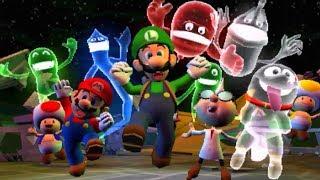 Luigi's Mansion 3DS Gameplay Part 1