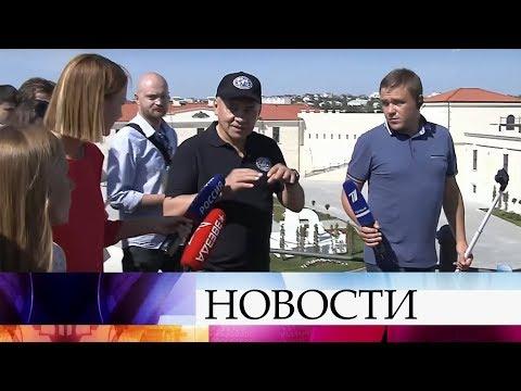 Глава Минобороны Сергей Шойгу провел экскурсию в Севастополе.