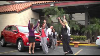 Jumping for Joy at Toyota Carlsbad