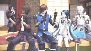 【MMD刀剣BASARA】恋ダンス【筆頭と伊達組】 thumbnail