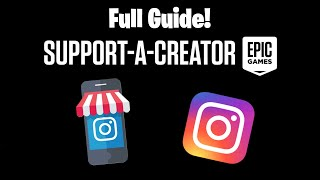 How to get aฑ Instagram Support a Creator Code! Set up a Facebook Page and Instagram Buisness!