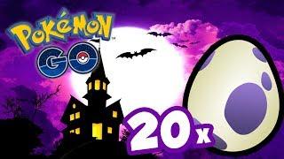 CHOQUEI 20 OVOS DO EVENTO DE HALLOWEEN -  Pokémon Go | Em Busca Dos Melhores (Parte 66)