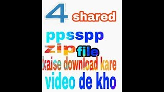4Sharéd Download Ppsspp