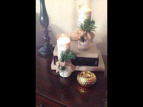 Dollar Tree Craft- DIY Holiday Decor