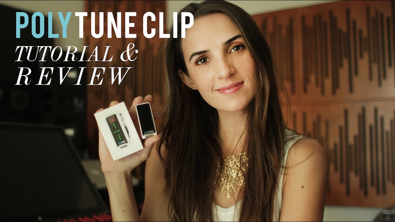 TC Electronic PolyTune Clip Review/Tutorial