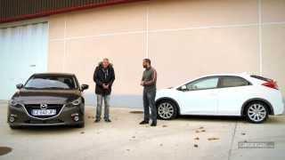 Comparatif : Mazda 3 vs Honda Civic