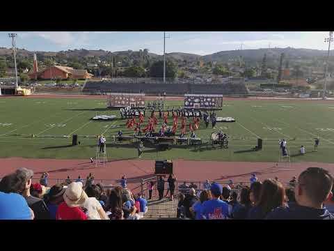 "El Toro High School Royal Blue Regiment ""Underland"" Showcase @Rowland Heights Nov 17, 2018"