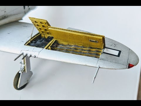 P-47D Thunderbolt Tamiya 1/48 - Gun Bay Construction