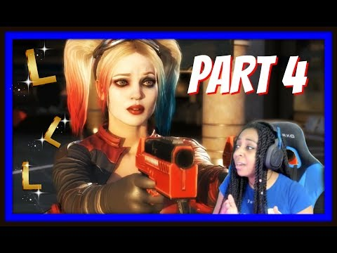 I TOOK NO L'S, BUT HARLEY SURE DID!!! | INJUSTICE 2 STORY MODE CHAPTERS 7-8 GAMEPLAY