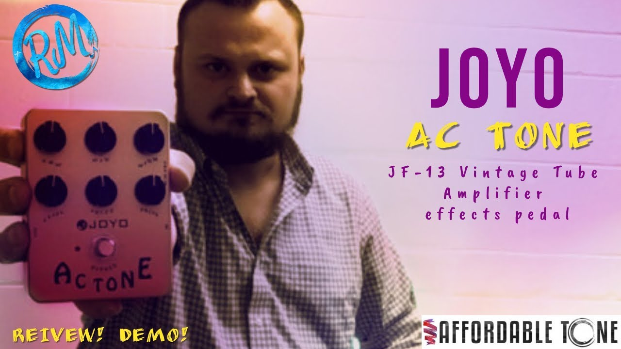 Joyo JF13 PEDALES EFECTO JOYO Ac Tone