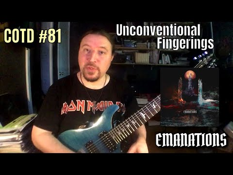 """ShredMentor Challenge of the Day #81: Unconventional Fingerings in the """"Emanations"""" Opening Theme"""