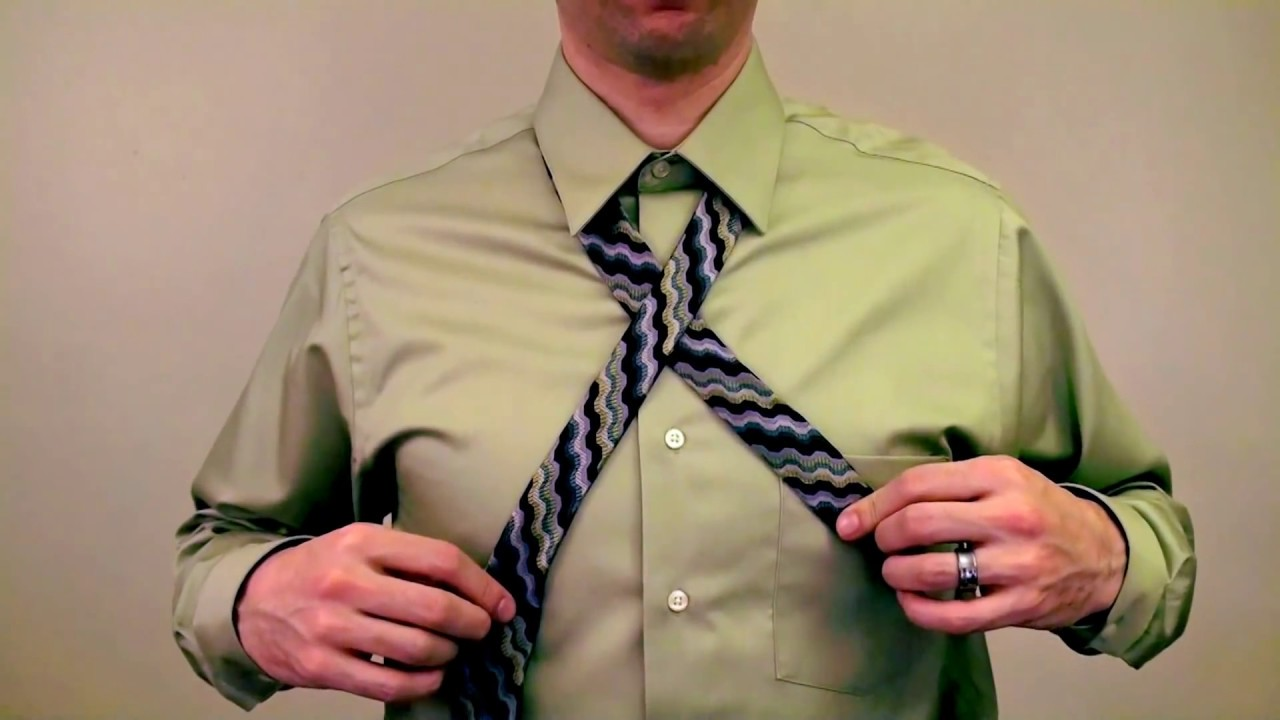 Proper tie length of a full windsor knot youtube ccuart Gallery