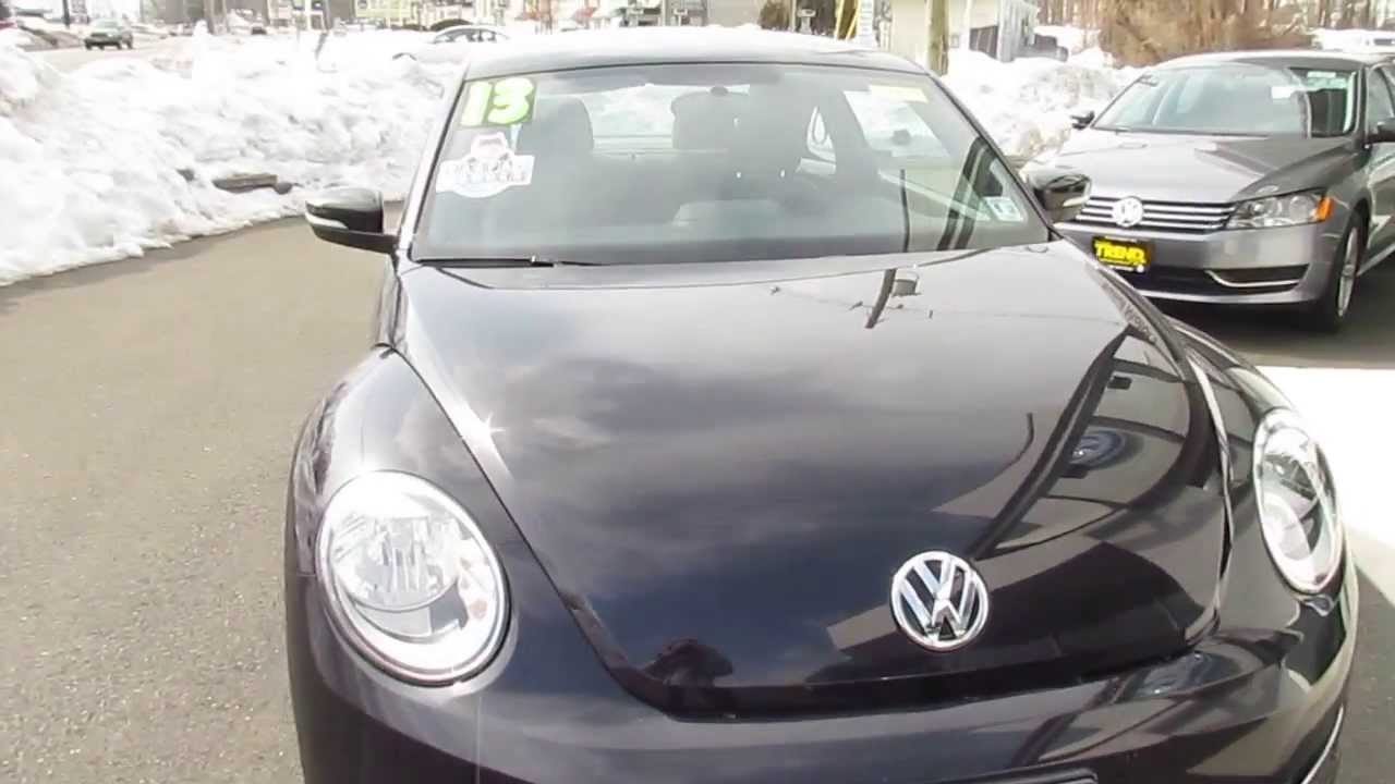 2013 Volkswagen Beetle Coupe Stk L3702 For Sale Trend
