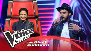 Dinun Ranasinghe - Obe Prema Nagare(ඔබේ ප්‍රේම නගරේ) | Blind Auditions | The Voice Sri Lanka Thumbnail