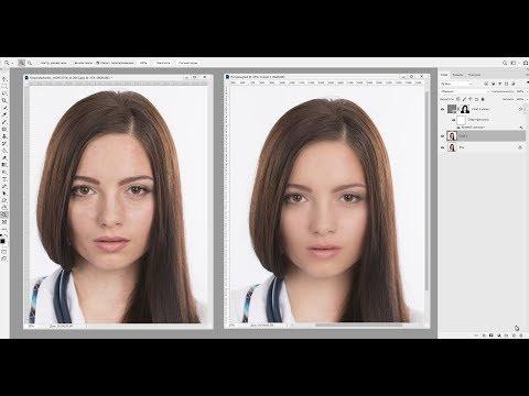 Ретушь фото быстро и эффективно в Adobe Photoshop 2019 CC